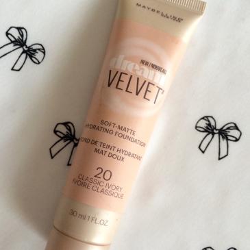 Makeup Monday: Maybelline Dream Velvet Soft-Matte Hydrating Foundation