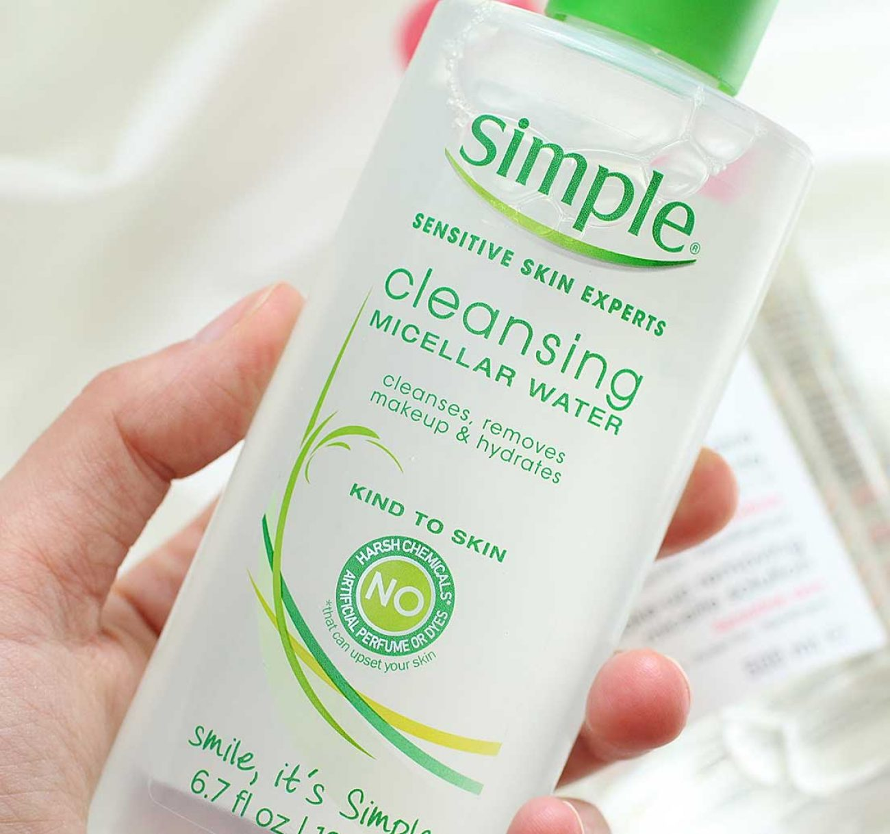 Why I Use Simple Cleansing Micellar Water Daily