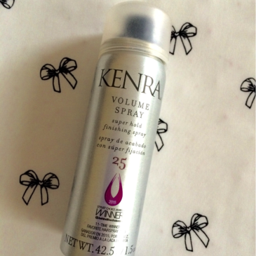 Makeup Monday: Kenra 25 Volume Spray