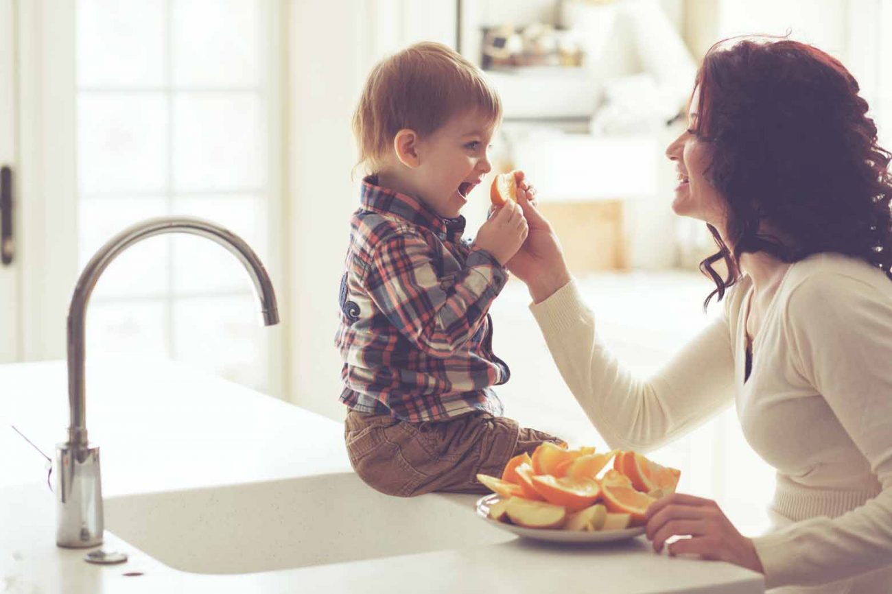 A Toddler's War on Food Finding Peace in Compromise