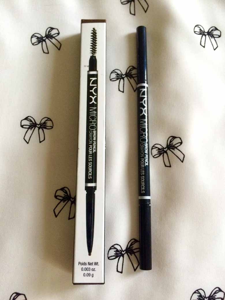 NYX Micro Brow Pencil Review