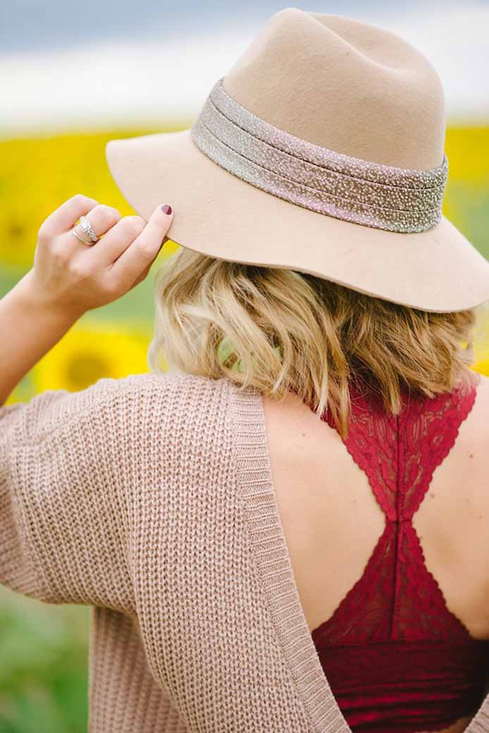 Now Trending Lace Bralettes—How To Style Them