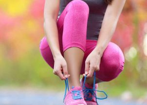 Grit and Grace in Hot Pink Spandex