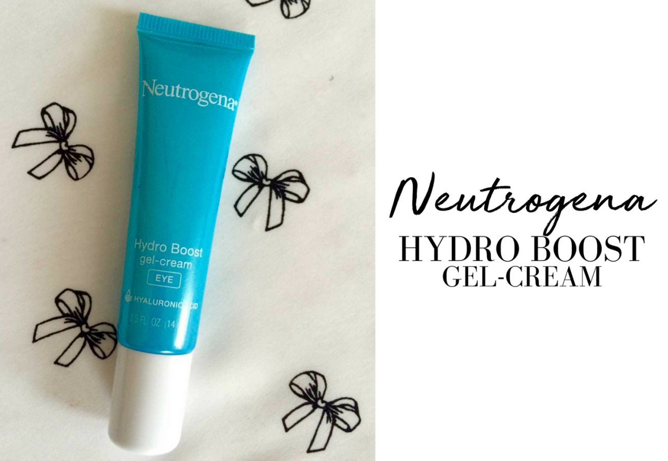 Neutrogena Hydro Boost Eye Gel-Cream Review