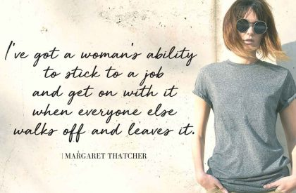 Margaret Thatcher A Woman Made of Iron, Grit, and Grace