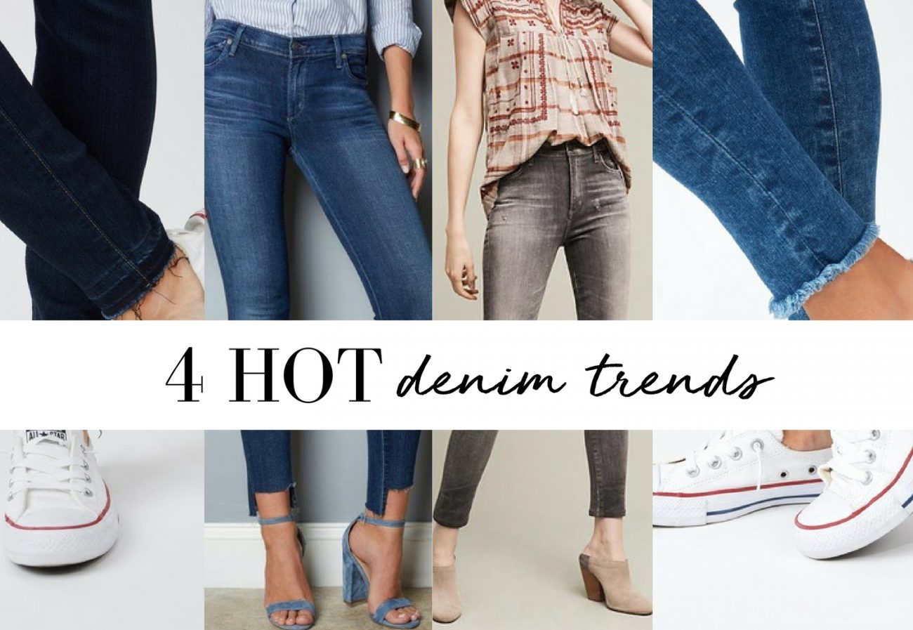 These 4 Denim Trends are Heading Your Way
