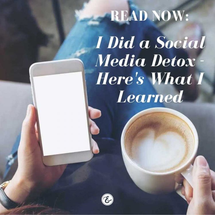 i did a social media detox, here's what i learned