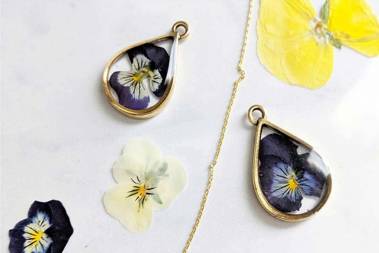 Dandelions in December Unique Jewelry for Your Journey