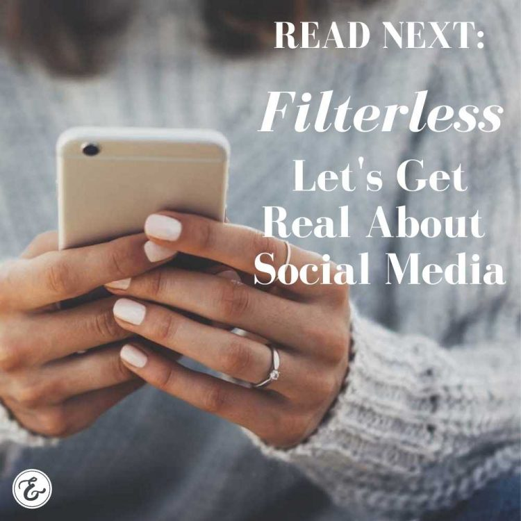 filterless let's get real about social media