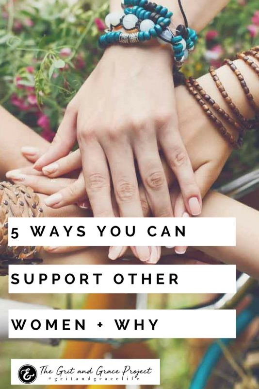 5 ways you can support women PIN