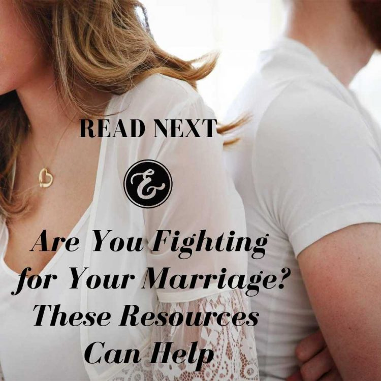 are you fighting for your marriage? these resources can help