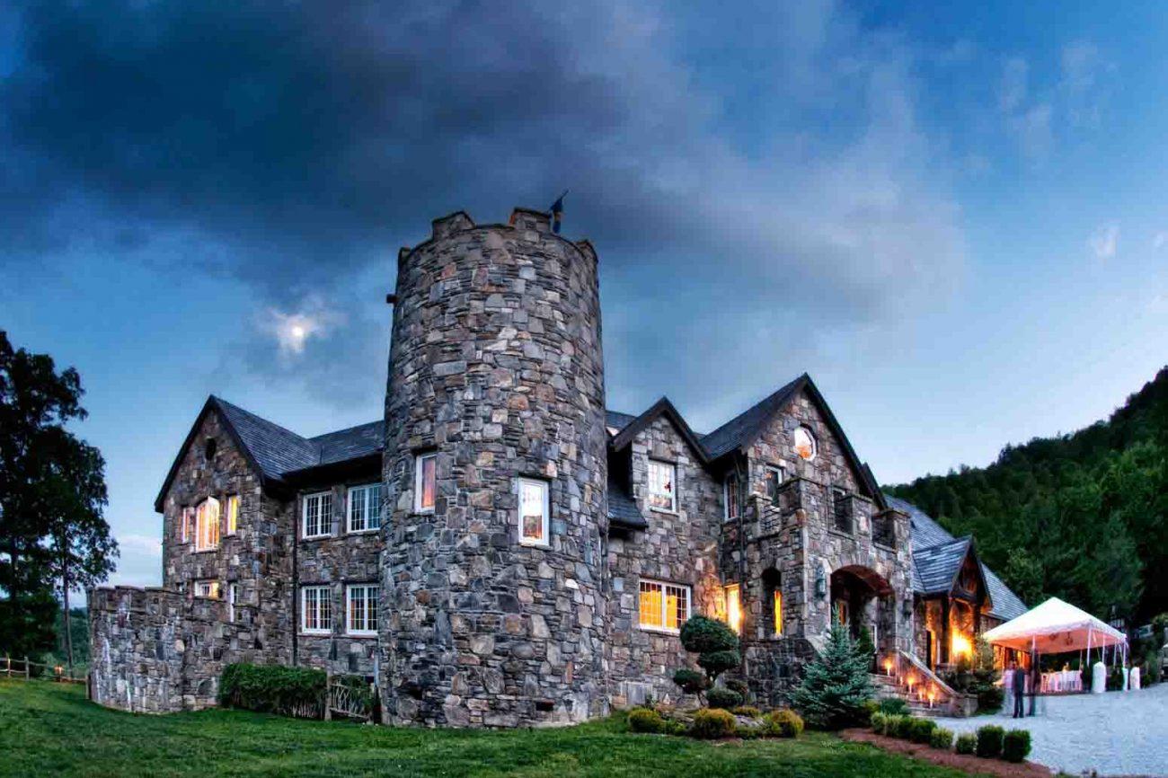 Castle Ladyhawke outside feature