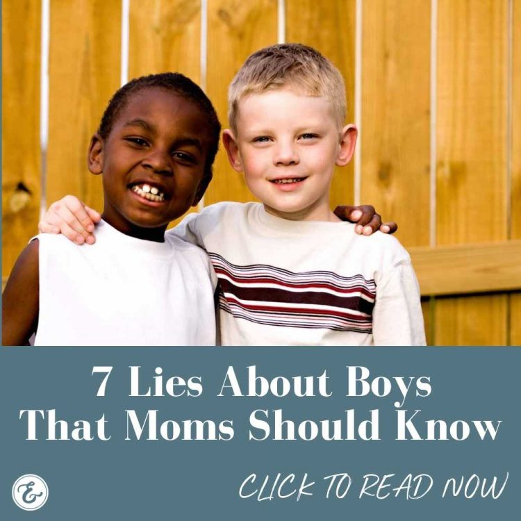 7 lies about boys that moms should know