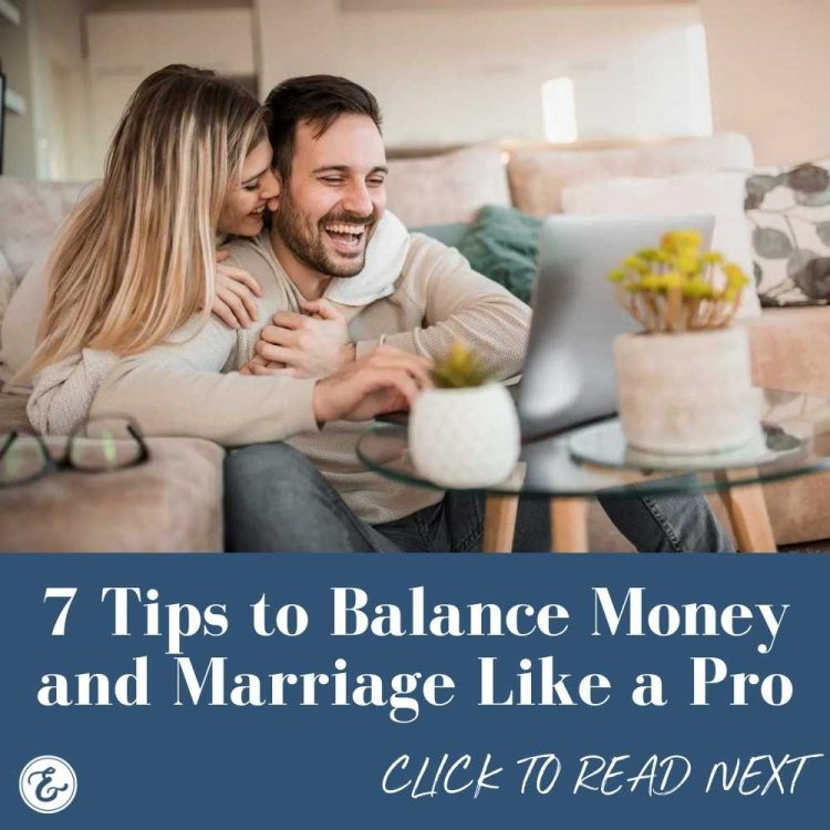 7 tips to balance money and marriage like a pro board