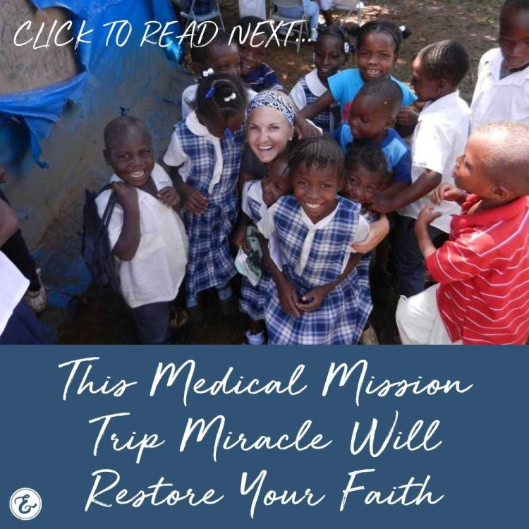 this medical mission trip miracle will restore your faith