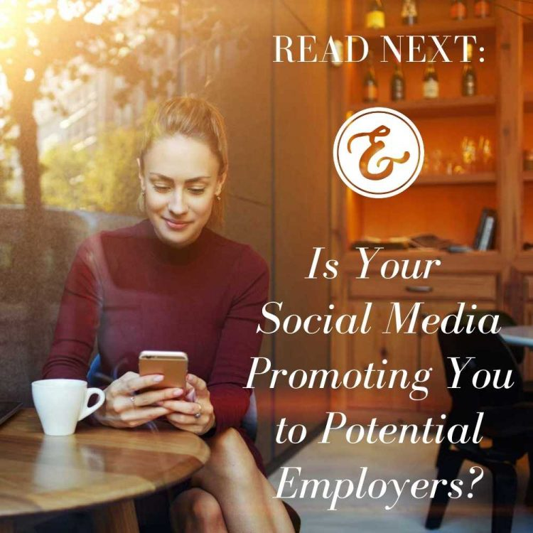 is your social media promoting you to potential employers?