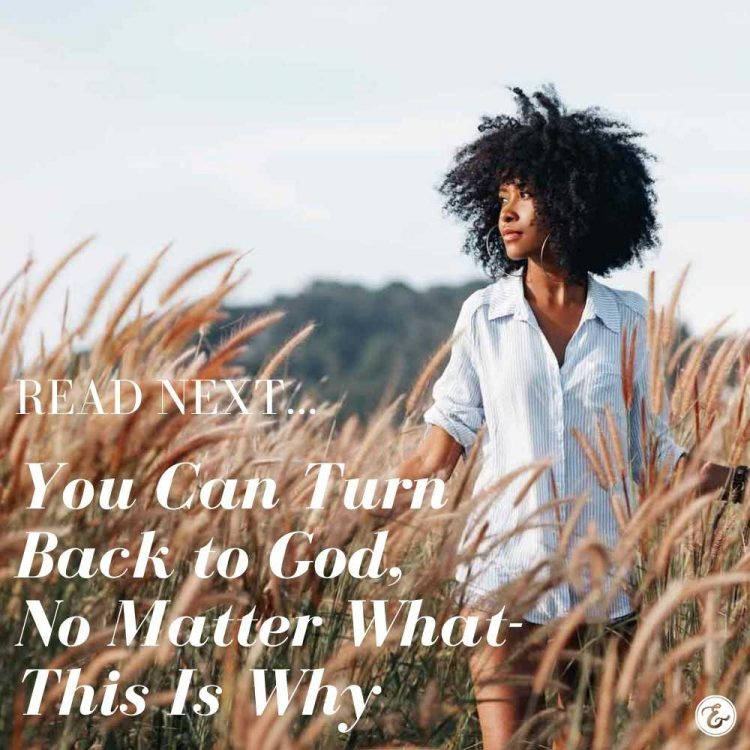 you can turn back to god no matter what this is why